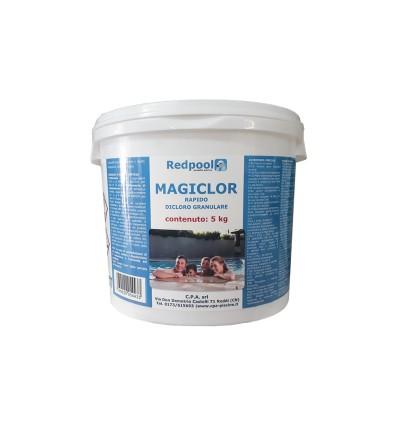 Magiclor Cloro rapido granulare - confezione da 5 Kg