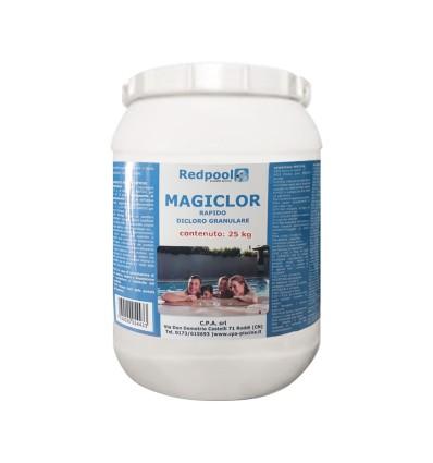 Magiclor Cloro rapido granulare - confezione da 25 Kg