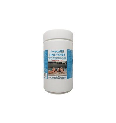 ONLYONE cloro multifunzione, pastiglie da 200g. Conf. da 1 Kg