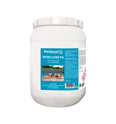 Cloro Ipoclorito di calcio granulare - confezione da 25 Kg