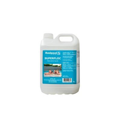SUPERFLOC - liquido per la chiarezza dell'acqua. Conf. 5 L