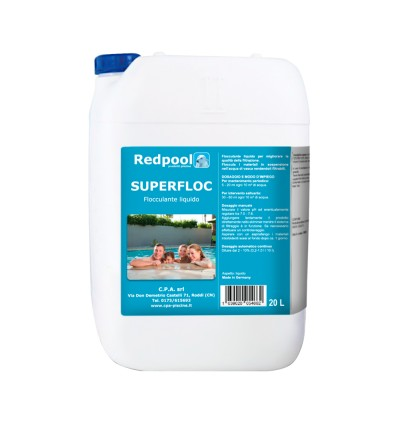 SUPERFLOC - liquido per la chiarezza dell'acqua. Conf. 20 L